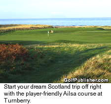 Ailsa course at Turnberry