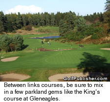 King's course at Gleneagles